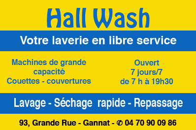 Hall wash