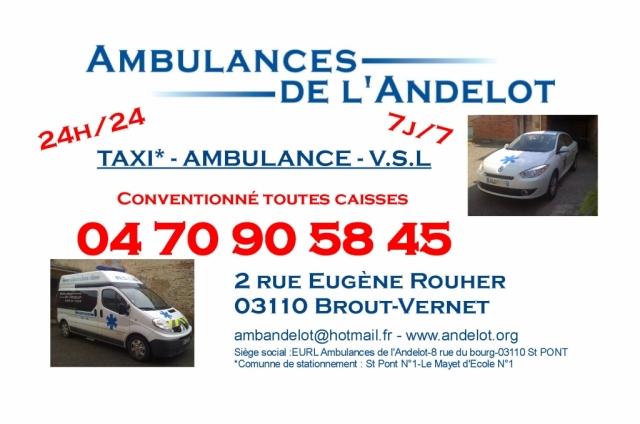 Ambulance de l' Andelot