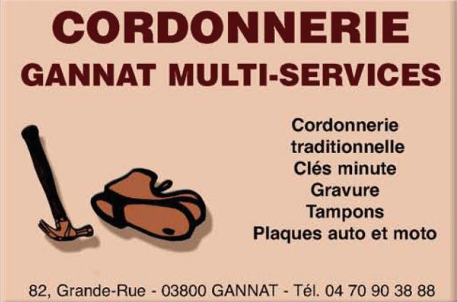 Cordonnerie gannat multi service