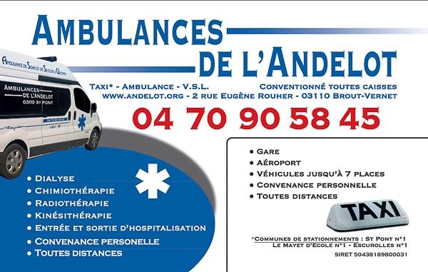 Ambulance de l' Andeolot