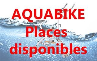 Aquabike: Places disponibles