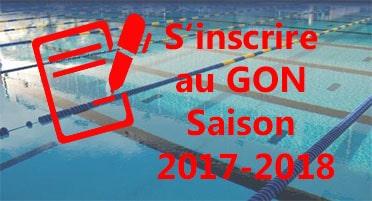 S' inscrire au GON Saison 2017-2018